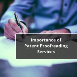 Importance of Patent Proofreading Services