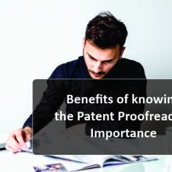 Benefits of knowing the Patent Proofreading Importance